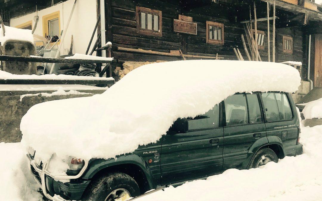 es schneibt und schneit und schneibt!