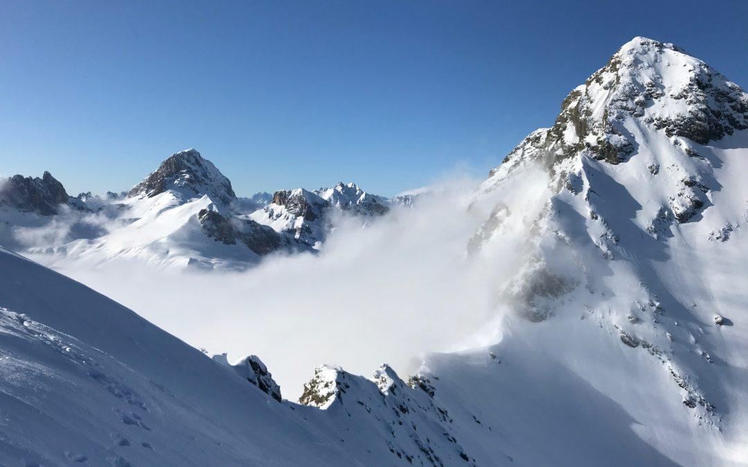 Eindrücke vom letzten hepi Skitourenwochenende