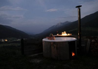 Jacuzzi bei Nacht